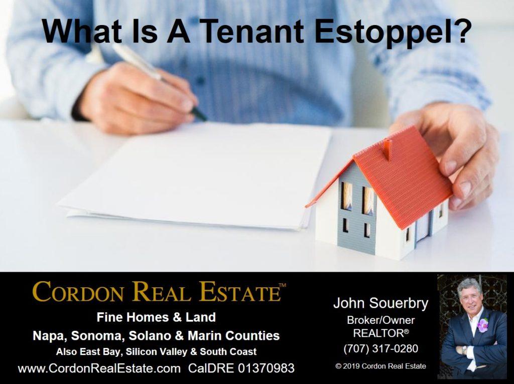What Is A Tenant Estoppel Cordon Real Estate