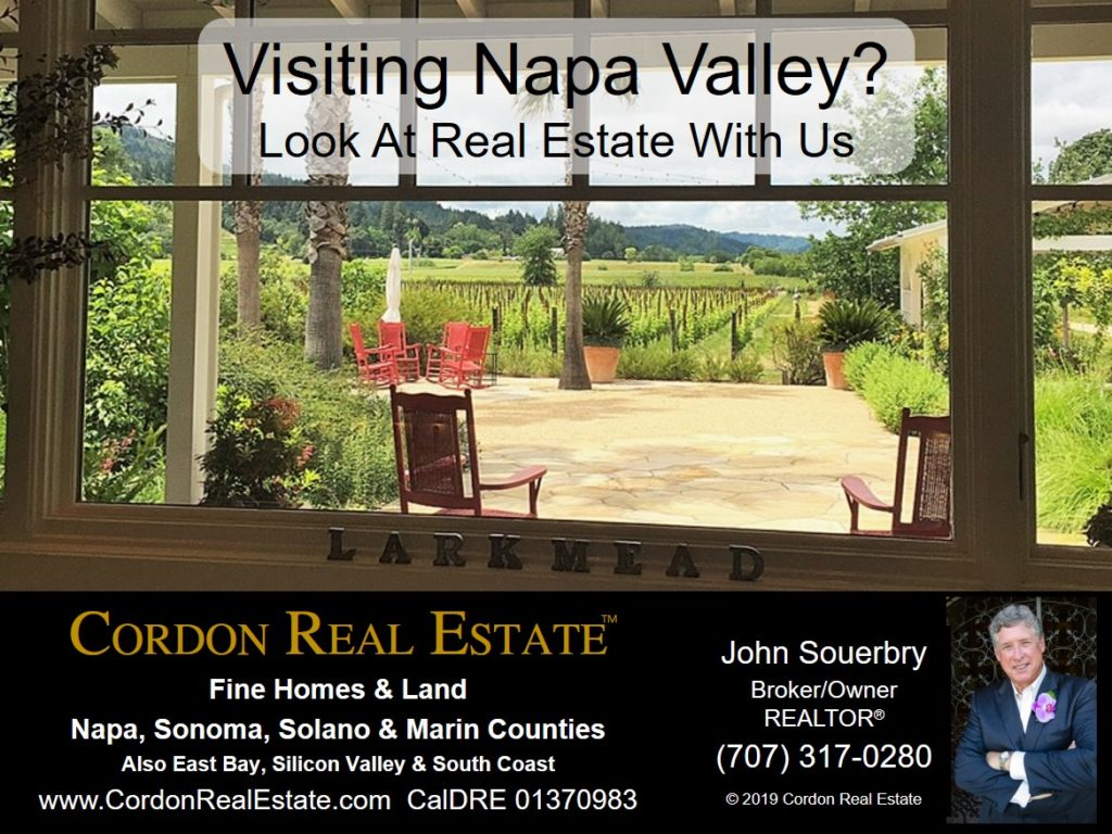Visiting Napa Valley Look At Real Estate With Us