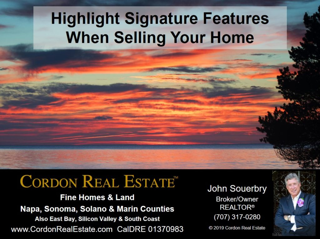 Highlight Signature Features When Selling Your Home Cordon Real Estate