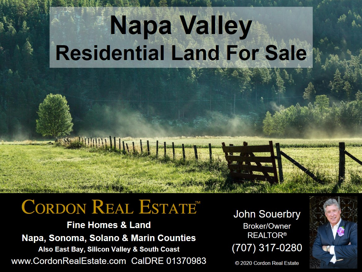 Napa Valley Residential Land For Sale Cordon Real Estate 2