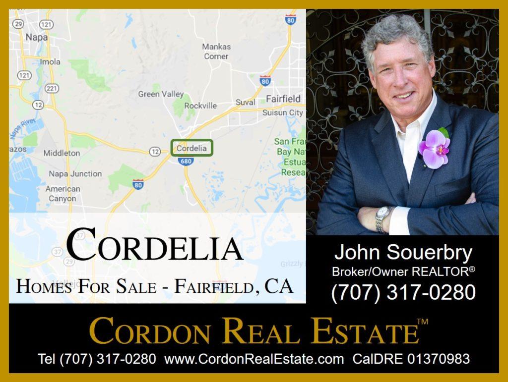 Cordelia Homes For Sale Fairfield CA Cordon Real Estate