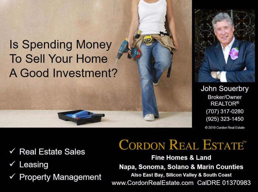 Is Spending Money To Sell Your Home A Good Investment Cordon Real Estate