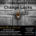 When Homeowners Should Change Locks Cordon Real Estate