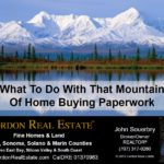 What To Do With That Mountain Of Home Buying Paperwork Cordon Real Estate