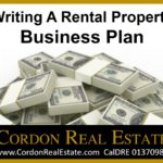 Writing A Rental Property Business Plan by Cordon Real Estate