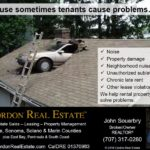 Because Sometimes Tenants Cause Problems 1 Cordon Real Estate