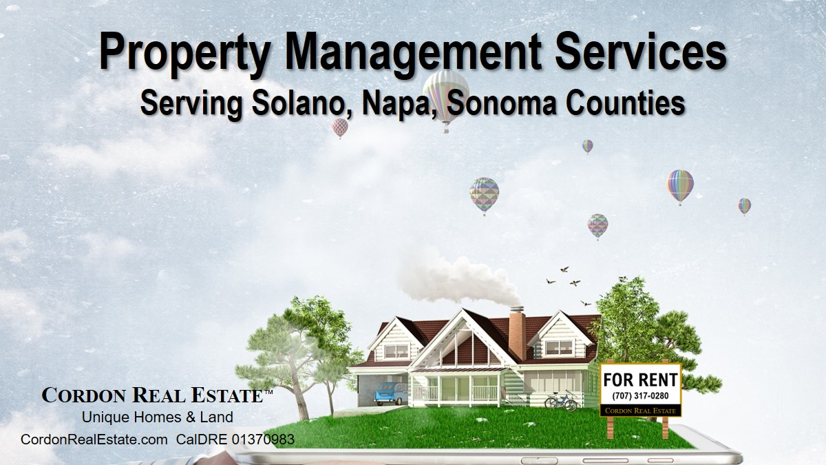 Property Management Services Napa County Sonoma County Solano County