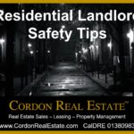 Residential Landlord Safety Tips Cordon Real Estate