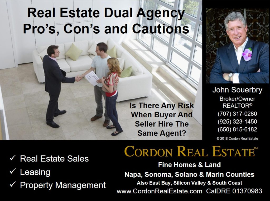 Real Estate Dual Agency Pros Cons and Cautions Cordon Real Estate