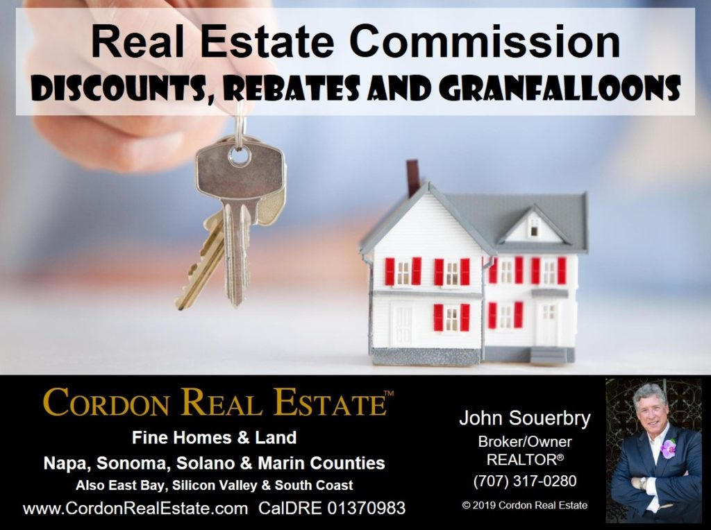 Real Estate Commissions Discounts Rebates and Granfalloons Cordon Real Estate