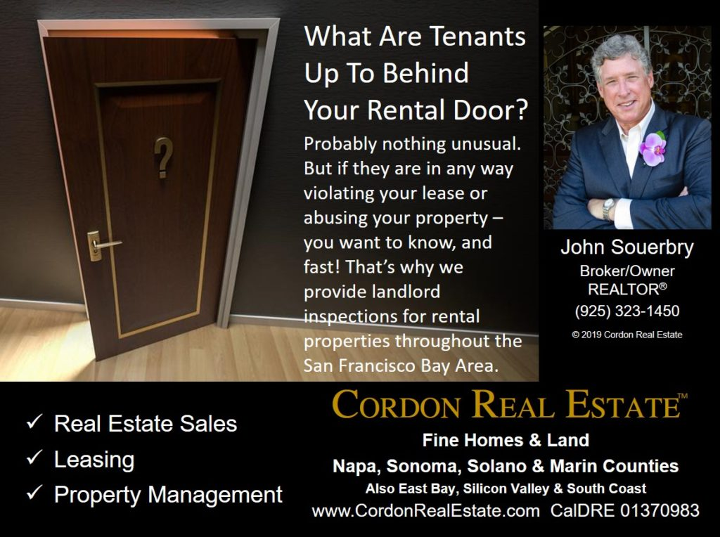 Landlord Inspections Throughout The San Francisco Bay Area Cordon Real Estate
