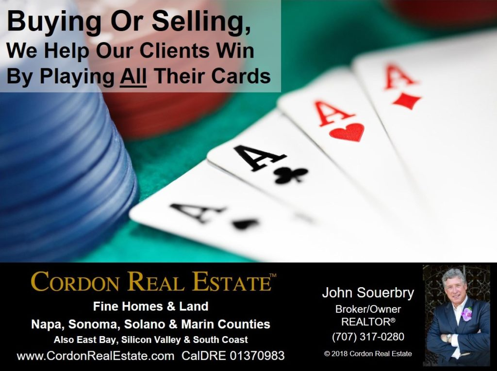 We Help Our Clients Win By Playing All Their Cards Cordon Real Estate