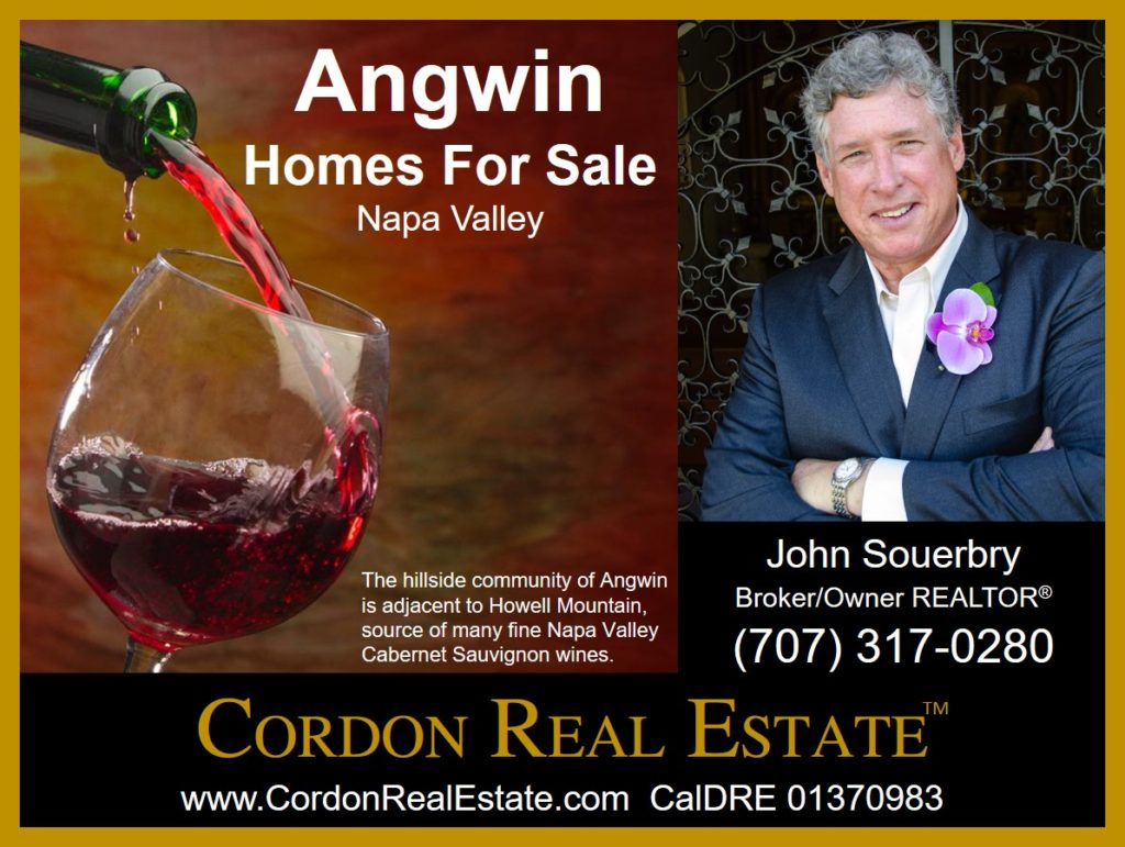 Angwin Homes For Sale Napa Valley Cordon Real Estate