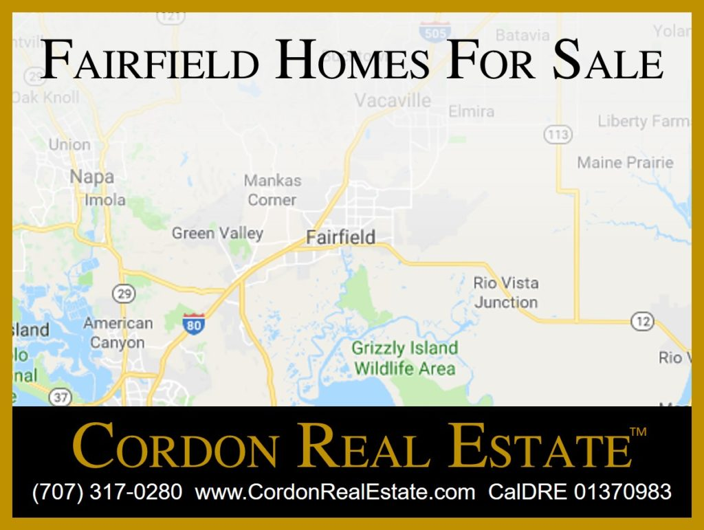Fairfield Homes For Sale Northern California Cordon Real Estate