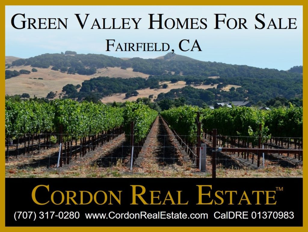 Green Valley Homes For Sale Fairfield CA Cordon Real Estate
