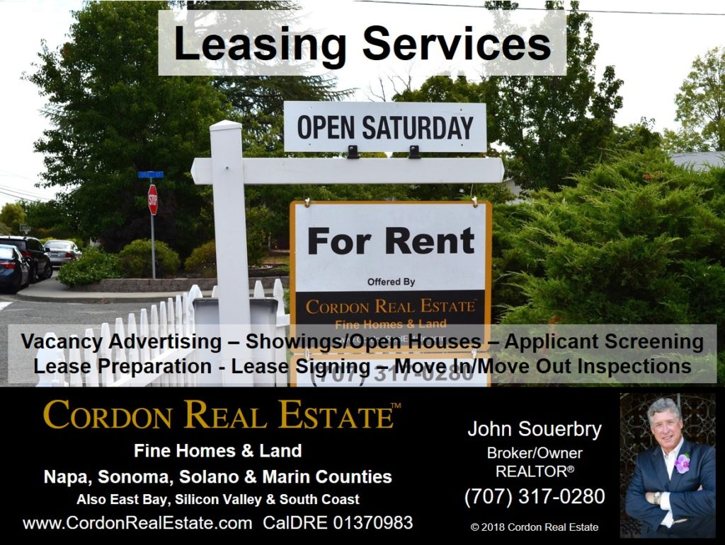 Leasing Services San Francisco Bay Area Cordon Real Estate