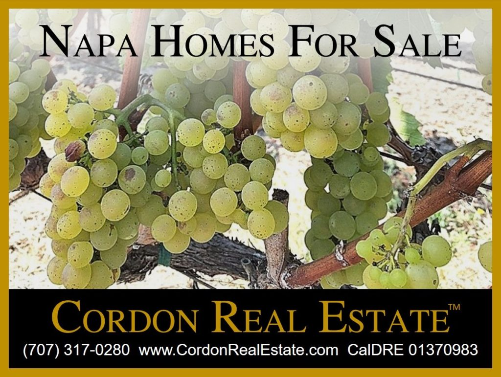 Napa Homes For Sale Cordon Real Estate