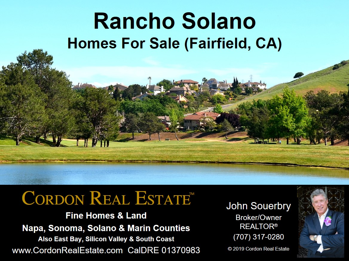 Rancho Solano Homes For Sale - Fairfield, CA - Cordon Real