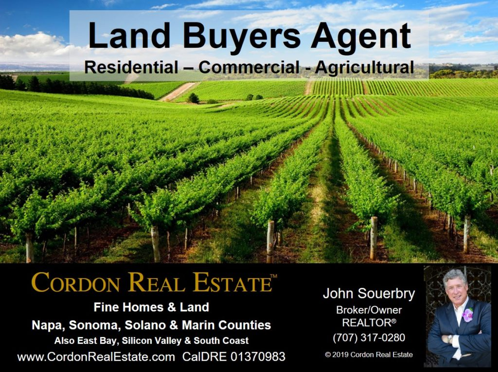 San Francisco Bay Area Land Buyers Agent Cordon Real Estate