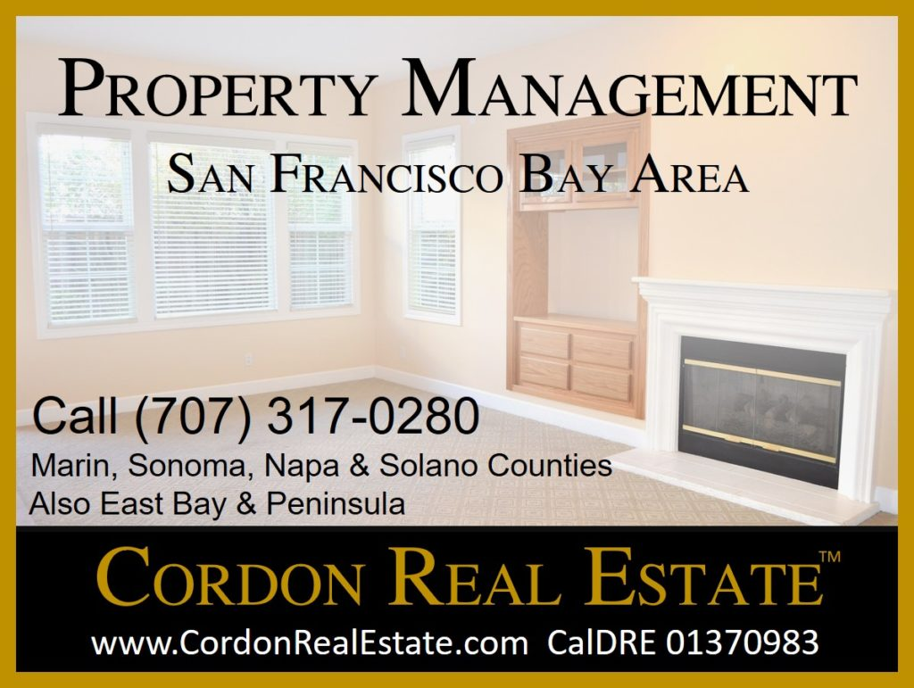 San Francisco Bay Area Property Management Cordon Real Estate