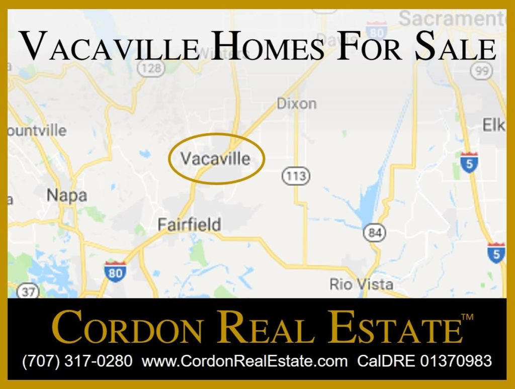 Vacaville Homes For Sale Cordon Real Estate