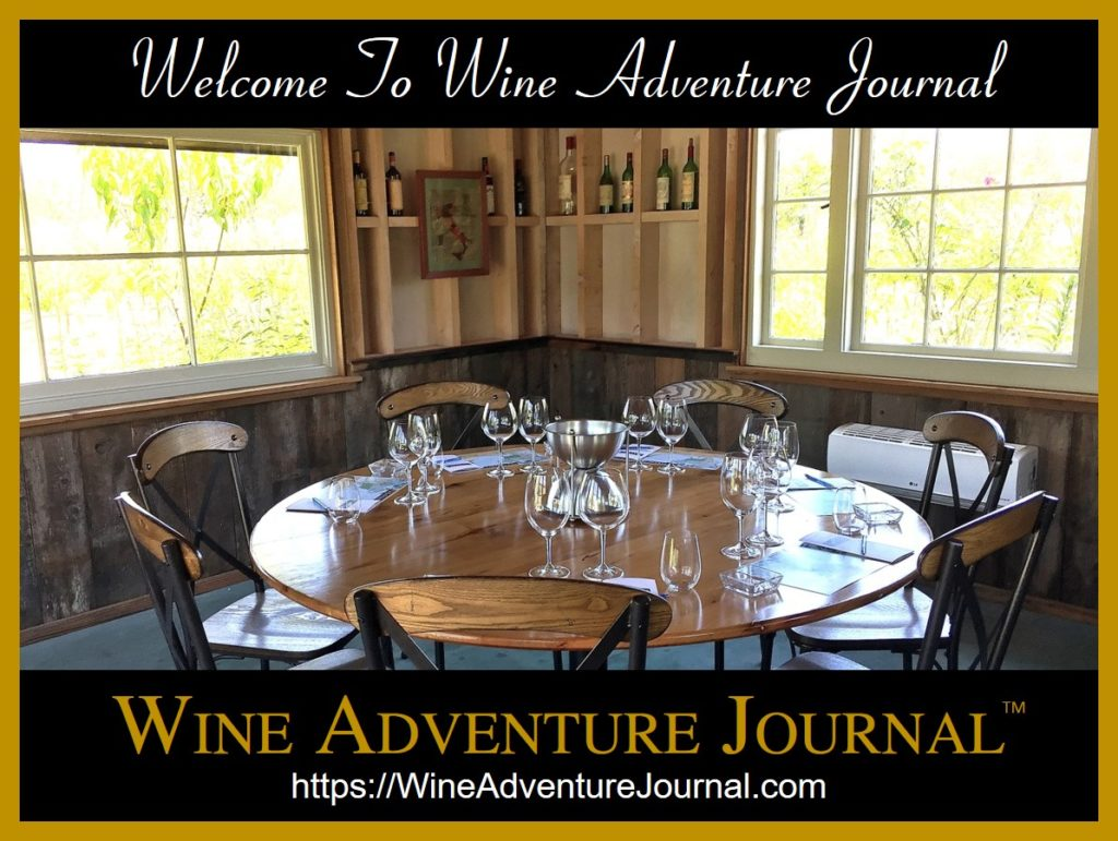Welcome To Wine Adventure Journal