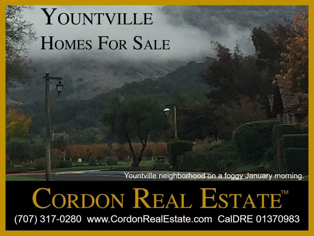 Yountville Homes For Sale Napa Valley Cordon Real Estate