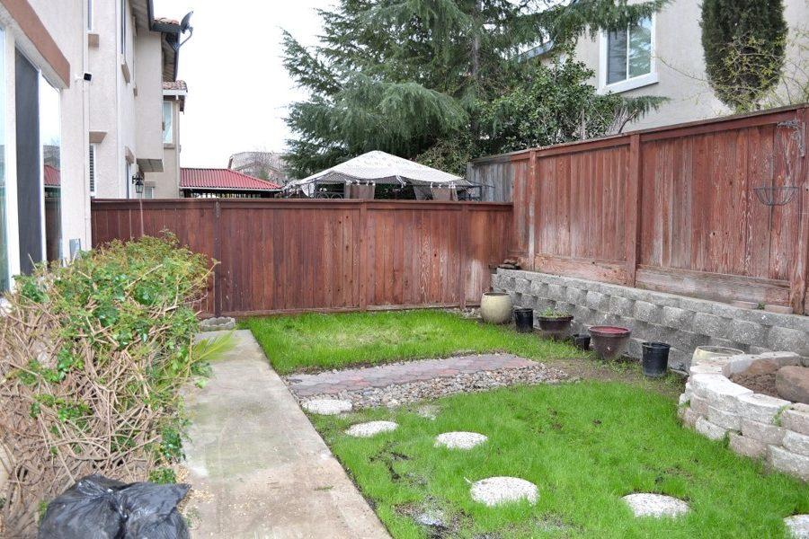 2422 Digerud Drive back yard