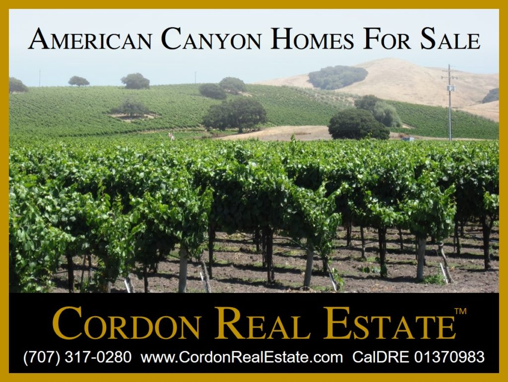 American Canyon Homes For Sale Napa Valley Cordon Real Estate