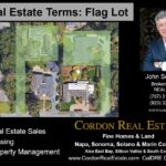 Real Estate Terms Flag Lot Cordon Real Estate