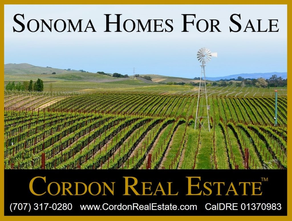 Sonoma Homes For Sale Cordon Real Estate