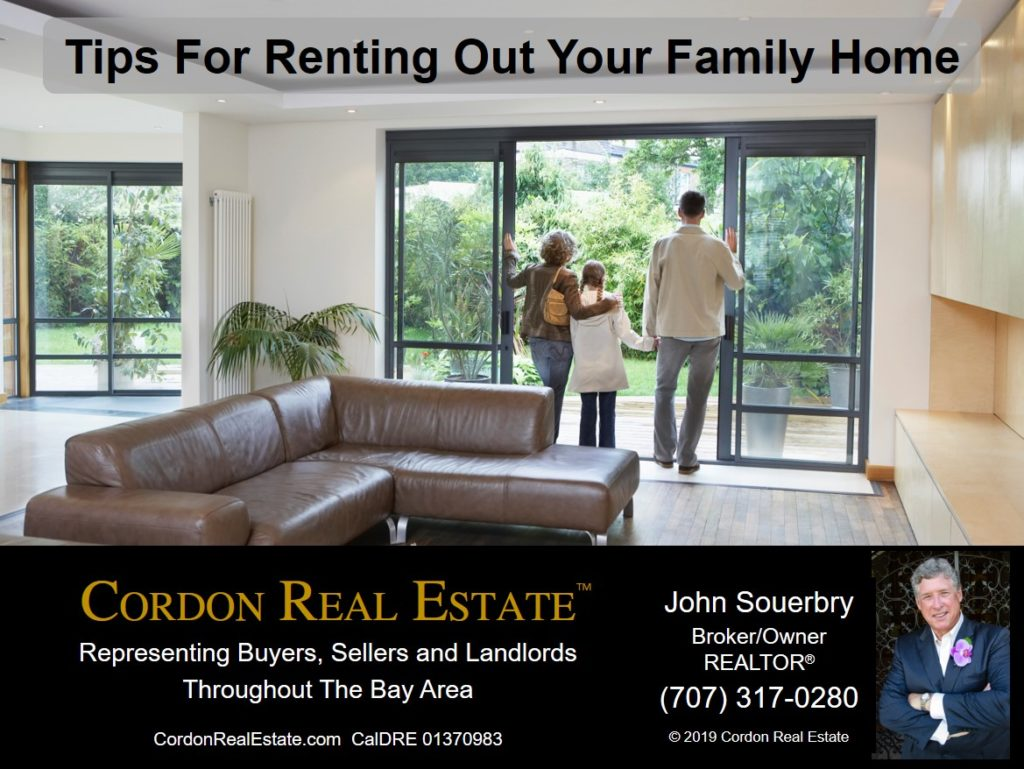 Tips For Renting Out Your Family Home