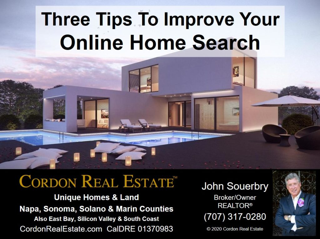 Three Tips To Improve Your Online Home Search Cordon Real Estate