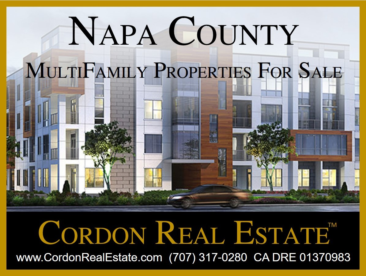 Napa Valley MultiFamily Apartments For Sale