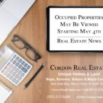 Occupied Properties May Be Viewed Starting May 4th