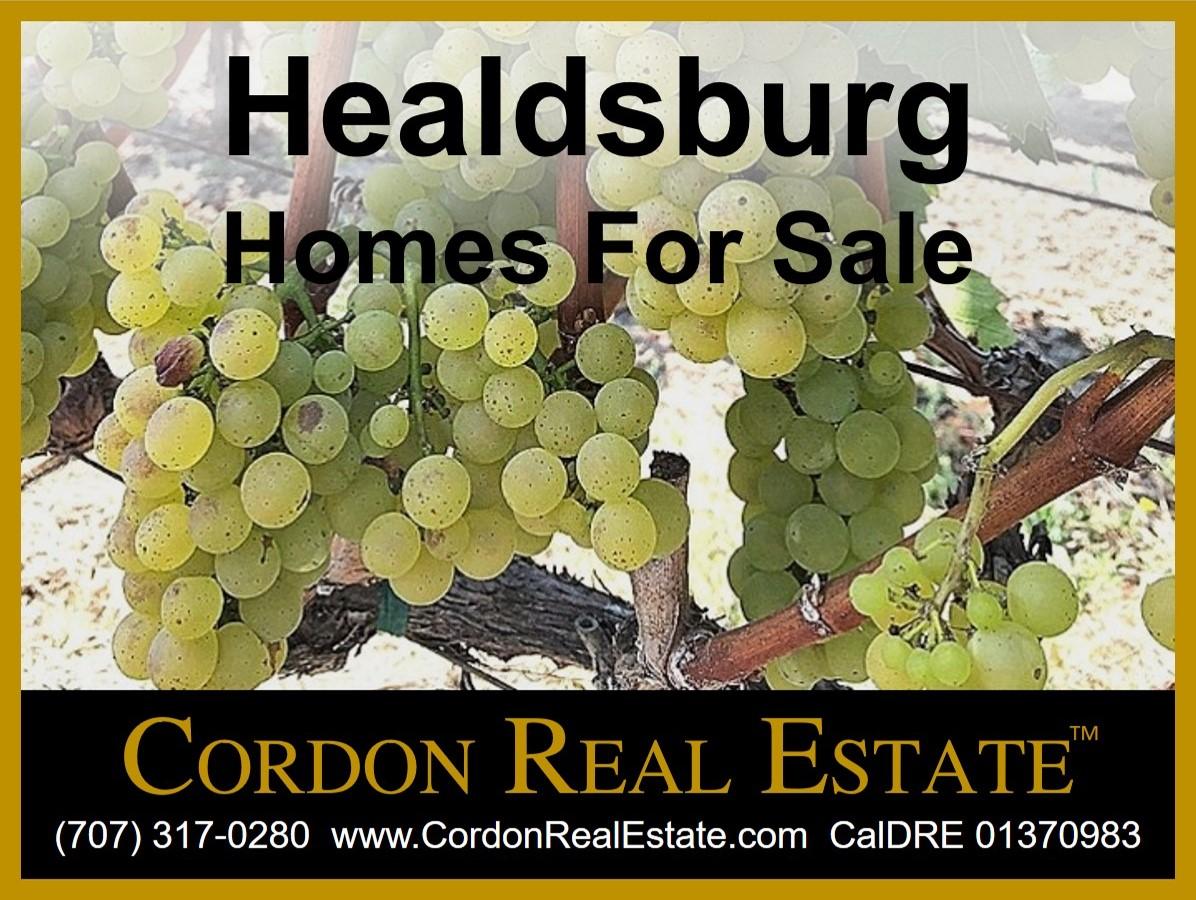 Healdsburg homes for sale Cordon Real Estate