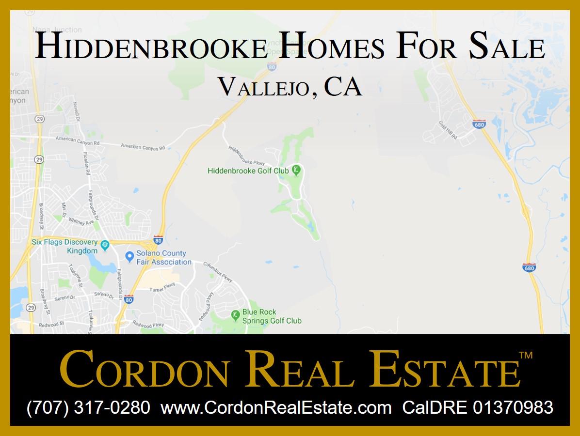 Hiddenbrooke Homes For Sale Vallejo CA Cordon Real Estate