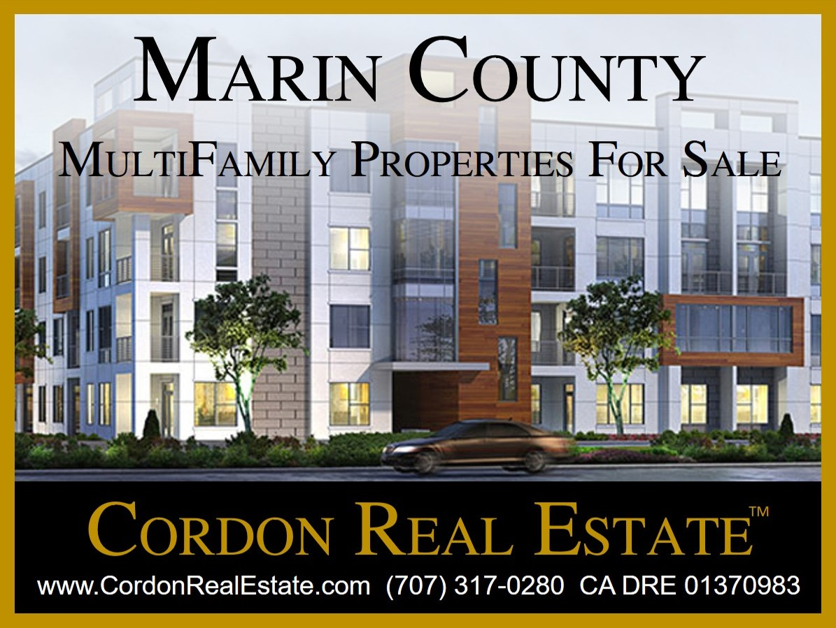 Marin County MultiFamily Apartments For Sale