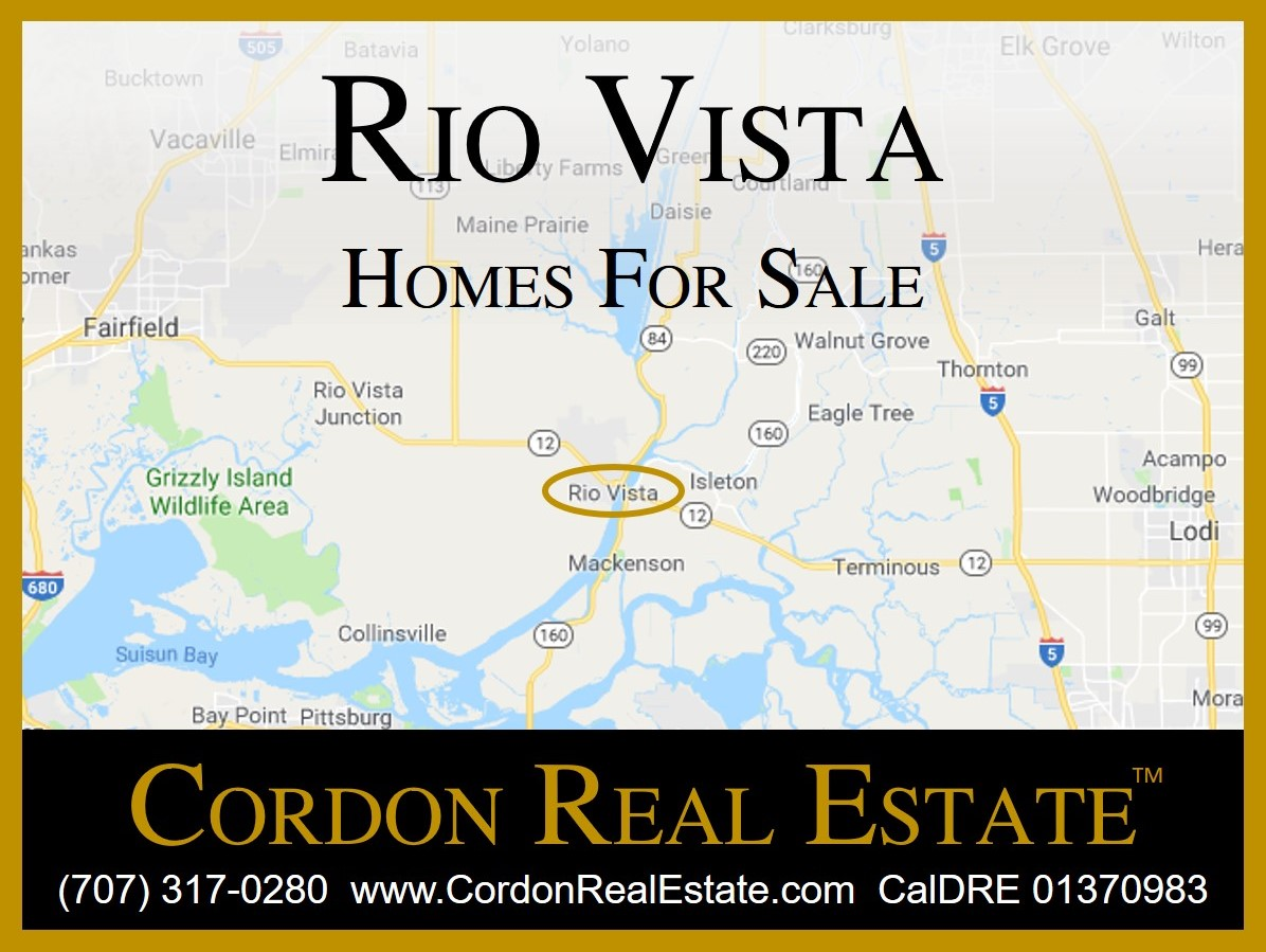Rio Vista Homes For Sale Cordon Real Estate