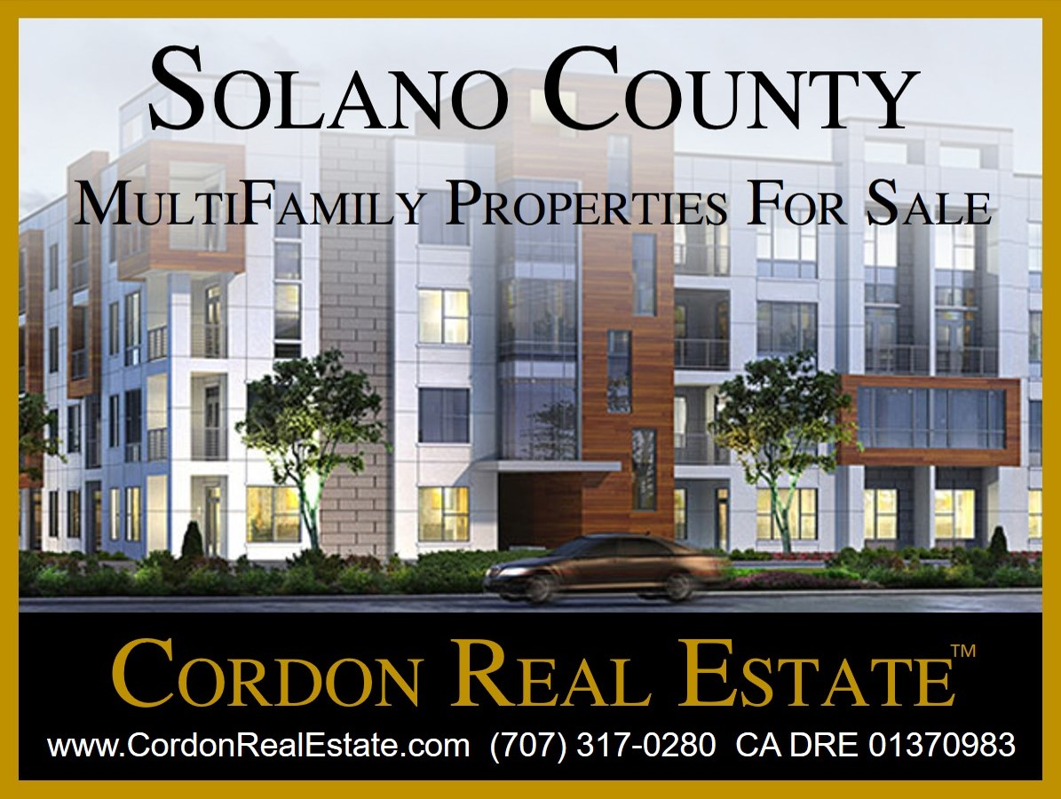 Solano County MultiFamily Apartments For Sale
