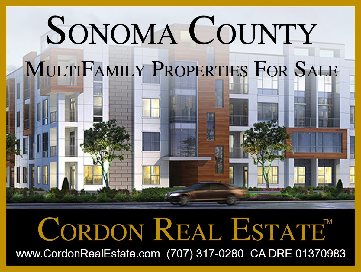 Sonoma County MultiFamily Apartments For Sale