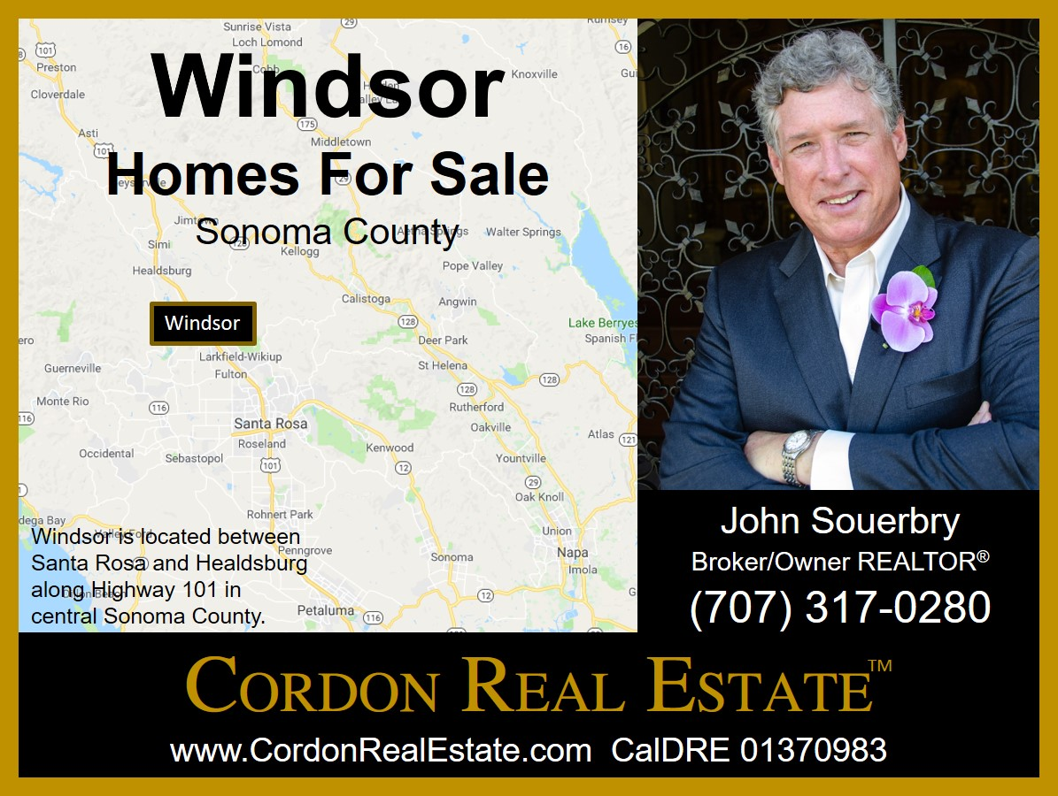 Windsor Homes For Sale Sonoma County Cordon Real Estate