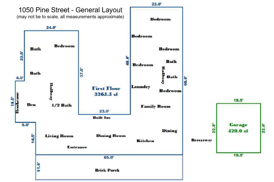 51 1050 Pine Street General Layout